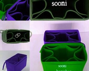 FOR MULBERRY :  baginbag,devide,bag insert organizer,shaper,sturdy,gift for her,felt bag organizer,bag insert