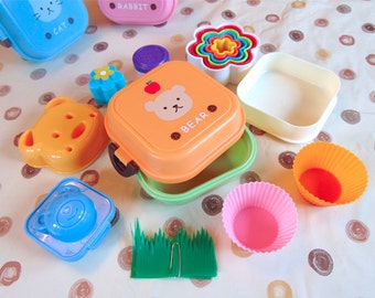 Orange Bear Bento Box Kit