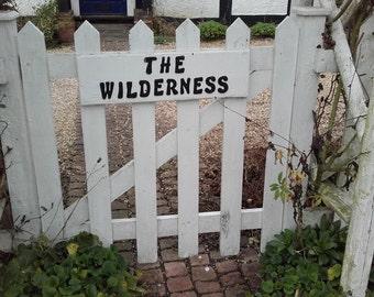 Garden Gate in England