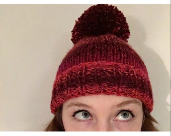 Moulin Rouge Bobble Beanie