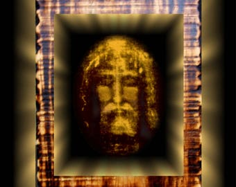 Christian Prayer Shroud of Turin Plaque
