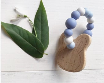 Bunny Teether Bluebell | Teething toy | Baby Gift |