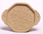 Thistle Shortbread Mold / Brown Bag Cookie Art 1988