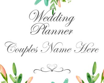 Wedding Planner Book 99 pages