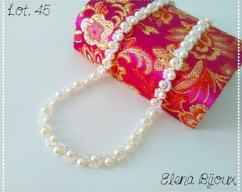 Swarovski White Pearl Necklace