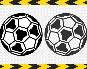 Soccer ball SVG Files for Cricut Silhouette DIY Soccer ball decal Dxf Pdf Png
