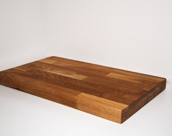 Large Solid Wood Butchers Block Chopping Board