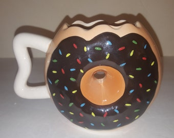 Big Mouth Donut Mug