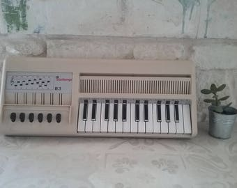 Organ BONTEMPI B3 vintage 1970 - beige / vintage - blower organ Musical Instrument
