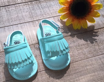 Baby Girl Sandal Mocassins/ Summer Sandals/ First Shoes