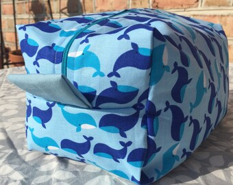 Whale Toiletry/Cosmetic Bag