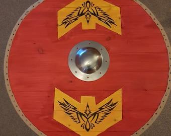 Heavy duty Viking shield