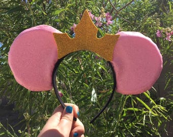 Sparkle Sleeping Beauty Inspired Mouse Ears