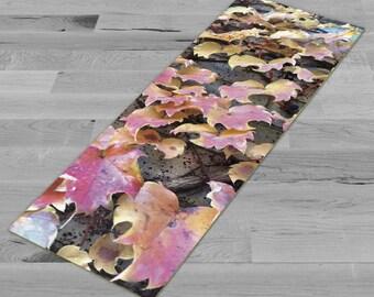 Fall Vines - Yoga Mat, Pilates Mat