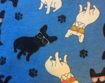 Fly Frenchie CUSTOM MADE Dog Bandana