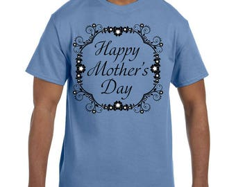 Tshirt Mother's Day Happy Mothers Day Flower Design model xx10088
