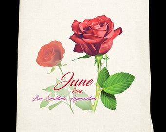 June Flour Sack Towel
