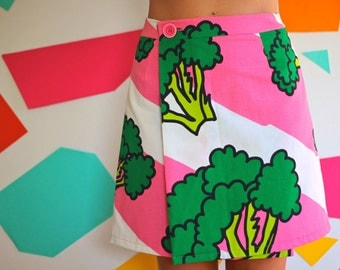 Broccoli Wrap Skirt