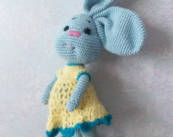 Knitted toy Rabbit-Mother