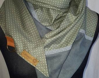 XXL carabiner shawl