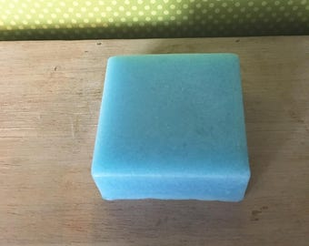 Blue Lemon Sugar Scrub Soap