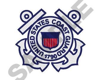 USA Coast Guard - Machine Embroidery Design