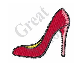 Shoe - Machine Embroidery Design