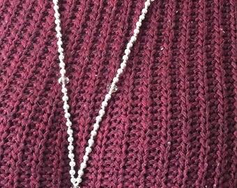 Necklace long necklace form