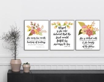 BUNDLE - three 8.5x11 IDENTITY prints