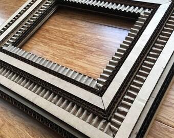 Handmade Cardboard Ornate Frame