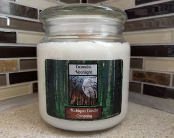 16 oz Soy Candle - Escanaba Moonlight - The Michigan Candle Company