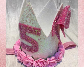 1st Birthday crown, custom birthday crown, birthday pat hat, birthday photo