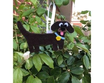 Mini Dachshund Ornament