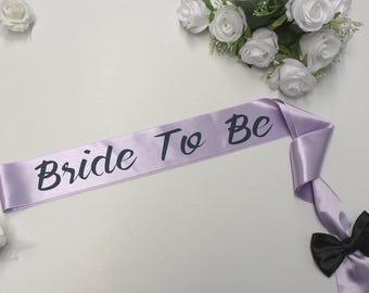 Bachelorette Sash, Bridal Sash, Bride sash, Bride gift, Wedding, Bridal Party, Wedding Sash, Bride To Be Sash, Gold Bridal Sash, Sashes