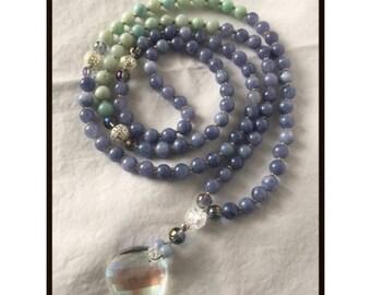 Mala Gemstone Necklace