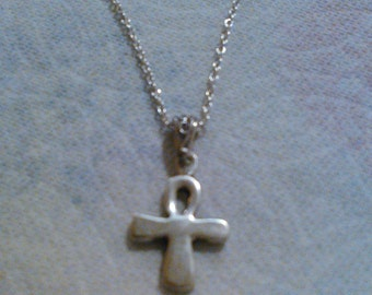 Sterling Silver Ankh Necklace