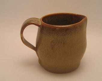 Hand Thrown Pottery Creamer