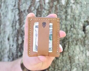 Thin Leather Card Wallet, Slim Wallet, Handmade Wallet, Thin Leather Wallet, Leather Wallet, Mens Wallet, Minimalist Wallet