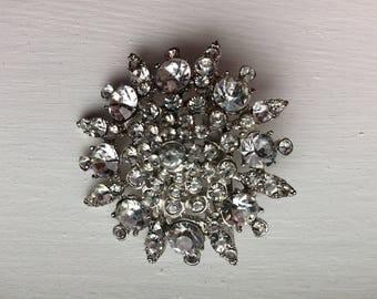 Brooch Rhinestones Brooches Wedding Accessories Birthday Gift Crystal Brooch