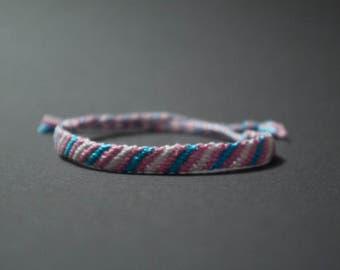 Trans Pride Friendship Bracelet