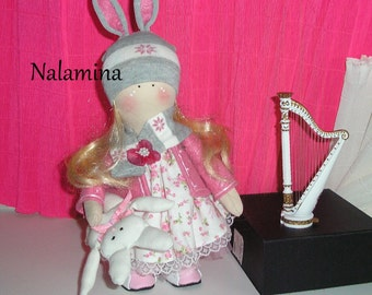 Doll Russian Teresita made handmade creations Nalaminas