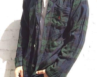 Polo Ralph Lauren Blackwatch Plaid Pajama Shirt