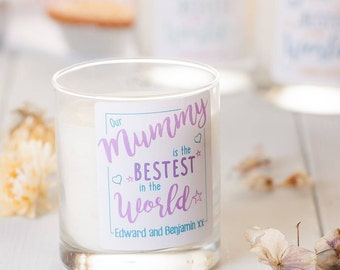 Personalised 'Bestest Scented Candle