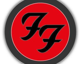 Foo Fighters Sticker Etsy