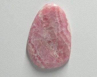 Rhodochrosite freeform cabochon