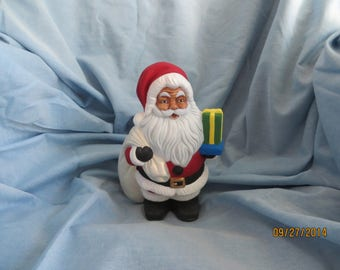 Santa with his bag of toys