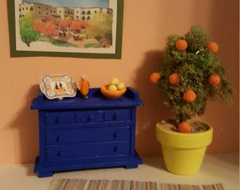 Colorful Dollhouse Room