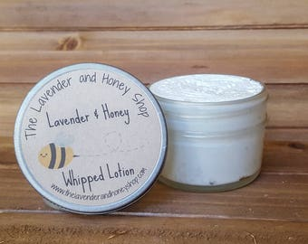 Baby Lavender and Honey Whipped Lotion