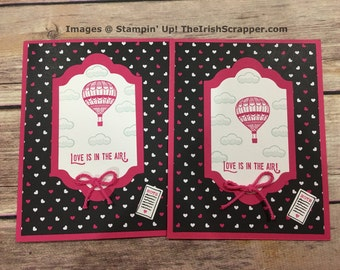 Stampin' Up! Lift Me Up | Love is in the air!