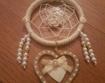 Vintage style heart Dreamcatcher